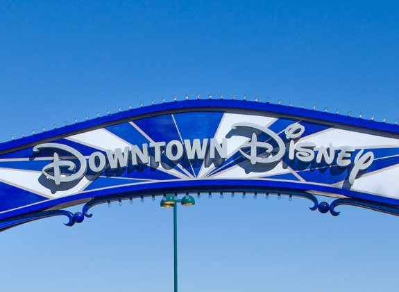 Anaheim Downtown Disney Sign