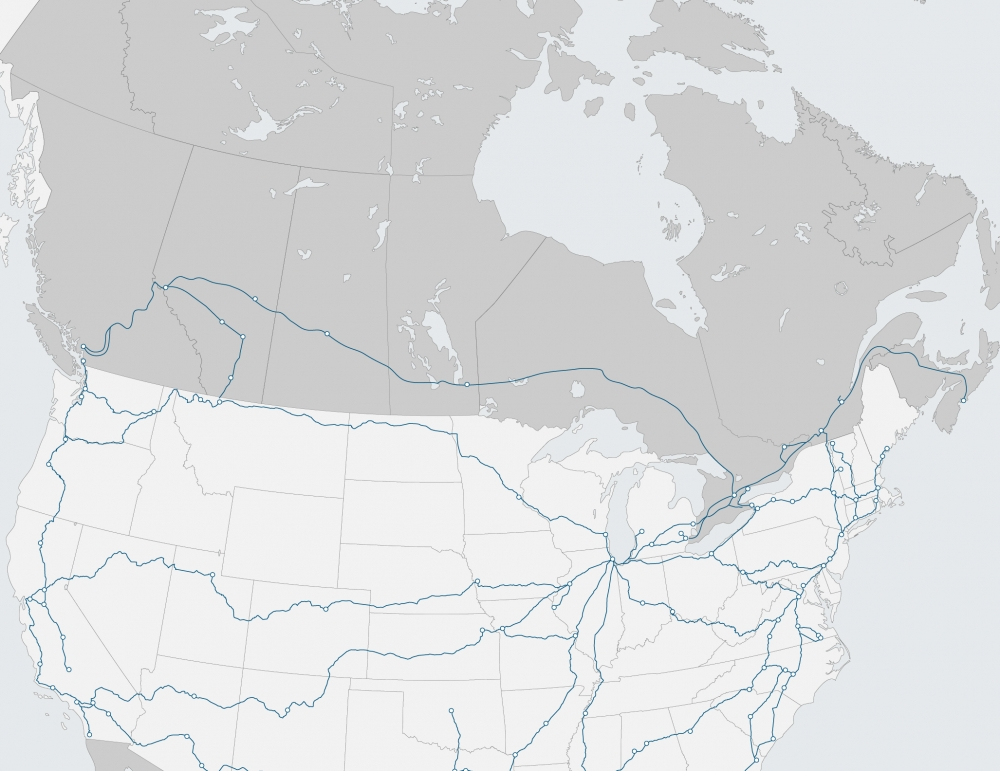 region map of Canada