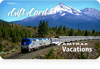 Amtrak Vacations gift card